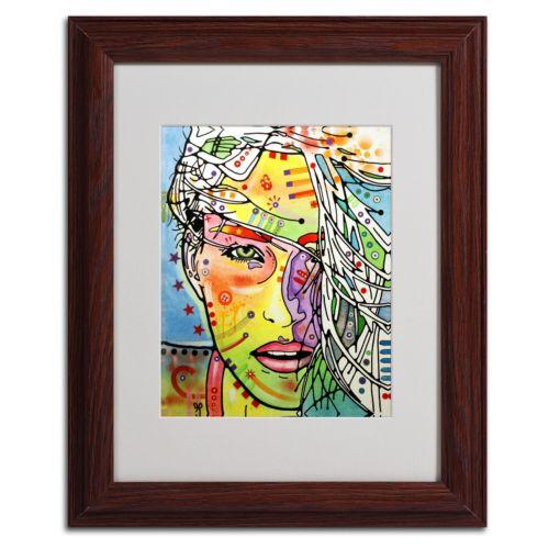 ''Wind Swept'' Framed Canvas Wall Art