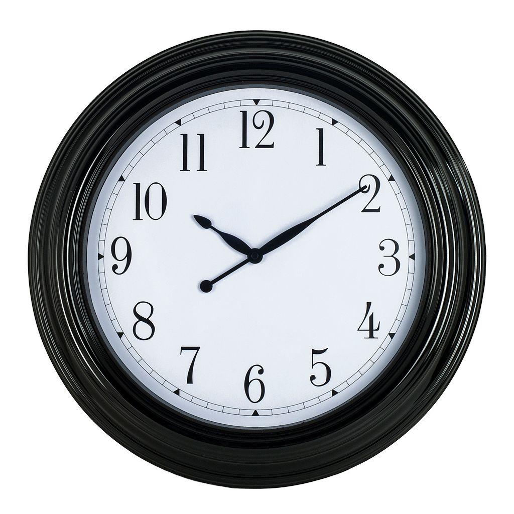 Round Wall Clock - Indoor & Outdoor