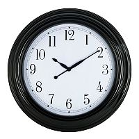 Round Wall Clock - Indoor & Outdoor