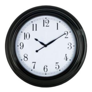 Round Wall Clock - Indoor and Outdoor