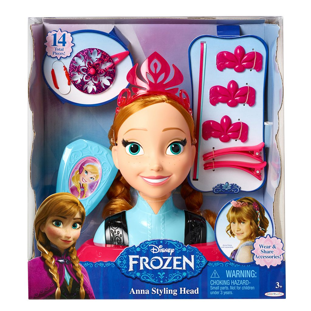 Disney's Frozen Anna Styling Head