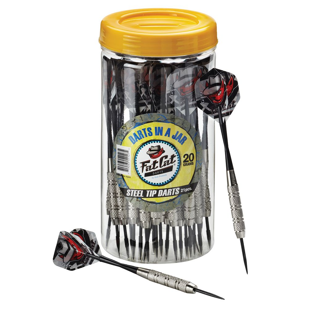 Fat Cat 21-pk. Steel Tip 20 Gram Darts