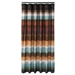 Jessen Stripe Fabric Shower Curtain