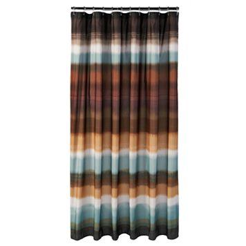 Jessen Stripe Fabric Shower Curtain