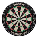 Viper Shot King Sisal Bristle Tournament Dartboard Set