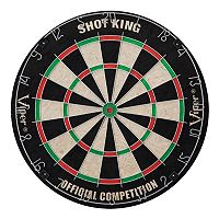 Viper Shot King Sisal Bristle Tournament Dartboard Set
