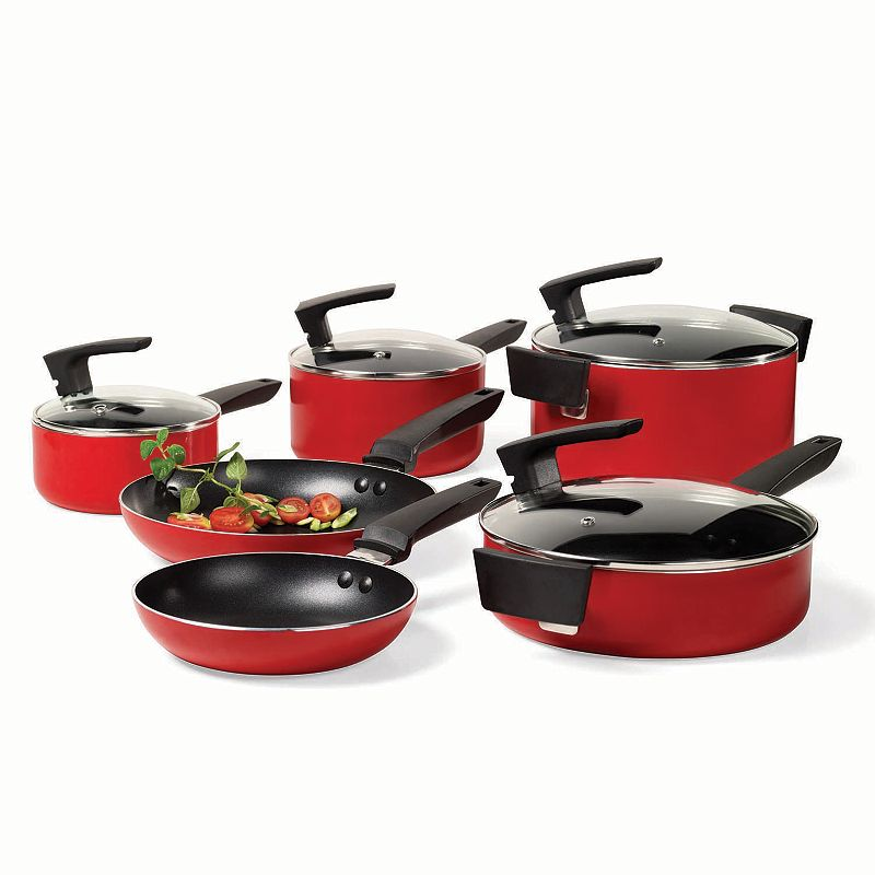 Philippe Richard 10-pc. Nonstick Aluminum Cookware Set