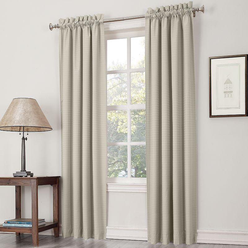 striped curtains window treatment | kohl's