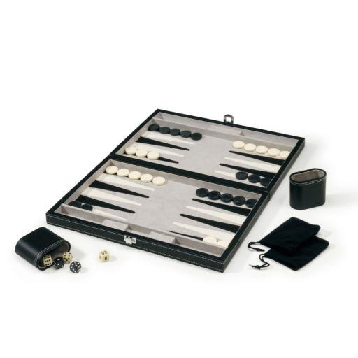 Mainstreet Classics 15'' Backgammon Set