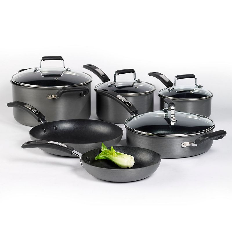 Denmark 10-pc. Hard-Anodized Cookware Set