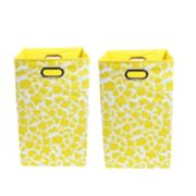 Modern Littles 2-pc. Giraffe Storage Bin Set