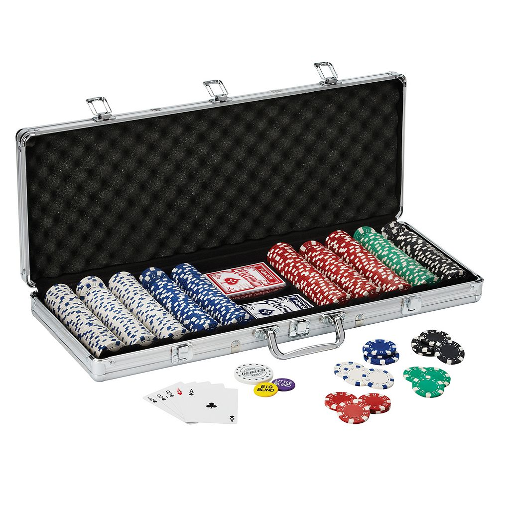 Fat Cat Texas Hold' Em 500-ct. Chip Set