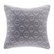 Madison Park 20'' x 20'' Snowflake Knit Throw Pillow