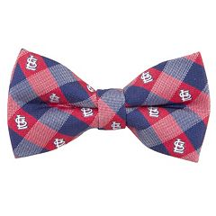 St. Louis Cardinals Check Woven Bow Tie