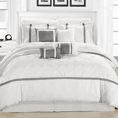 Vermont 12-pc. Gray Bed Set