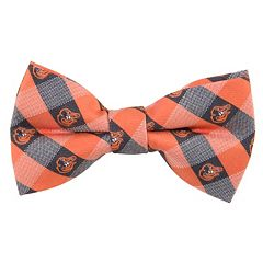 Baltimore Orioles Check Woven Bow Tie