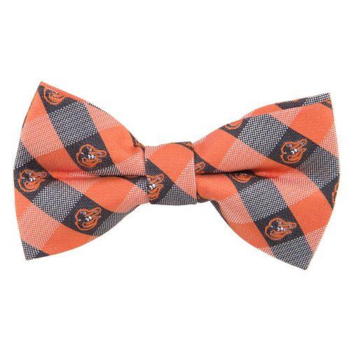 Baltimore Orioles Check Woven Bow Tie