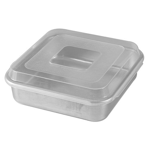 Nordic Ware 9-in. Square Cake Pan with Lid