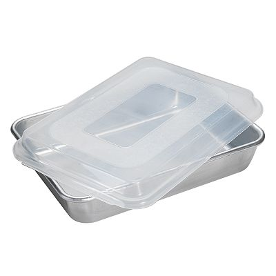 Nordic Ware Rectangle Cake Pan With Lid