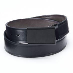 Apt. 9® Matte Plaque Reversible Leather Belt - Men
