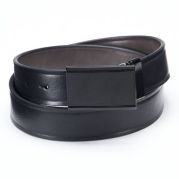 Apt. 9® Matte Plaque Reversible Leather Belt - Men