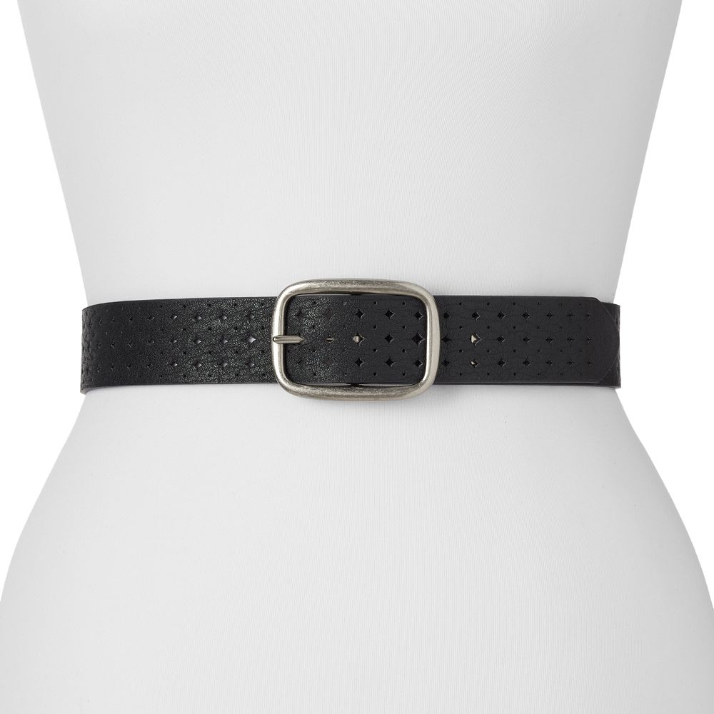 Relic by Fossil Perforated Reversible Belt
