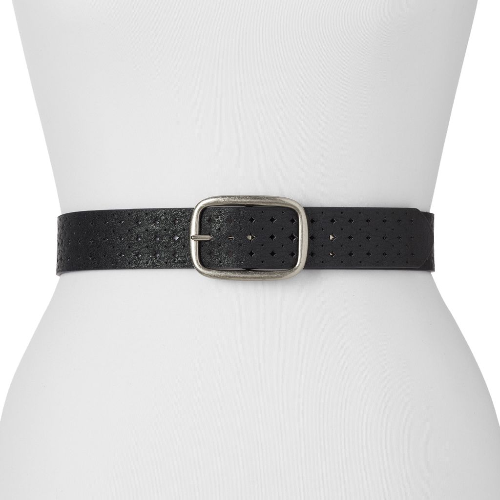 Relic Perforated Reversible Belt