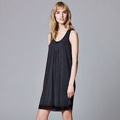 Women's Simply Vera Vera Wang Basic Luxury Chemise