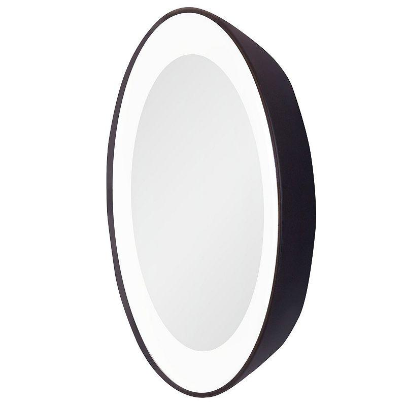 Lighted Vanity Mirror Kohls : Black Glass Mirror Kohl s