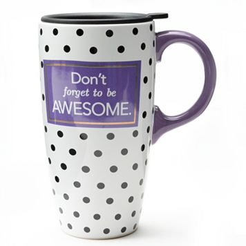''Don't Forget to be Awesome'' Travel Mug