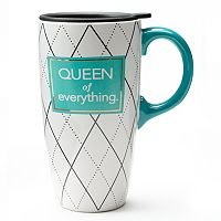 ''Queen of Everything'' Travel Mug