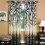 Kenya Sheer Window Curtain - 50'' x 84''
