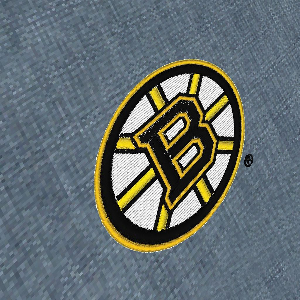 Men's Antigua Boston Bruins Chambray Button-Down Shirt