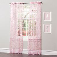 Lush Decor Briana Sheer Window Curtains - 50'' x 84''