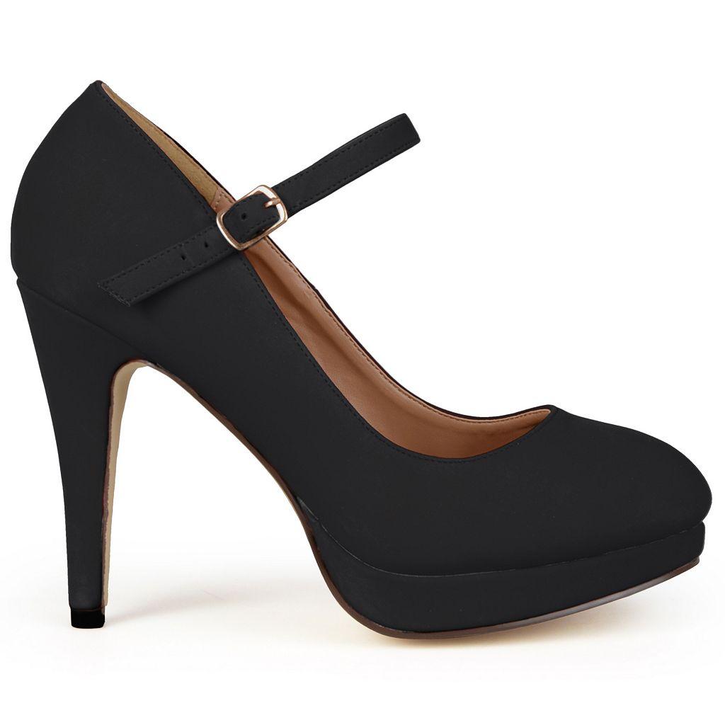 Journee Collection Shelby Women's Platform Mary Jane Heels