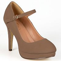 Journee Collection Shelby Women's Platform Mary Jane Heels
