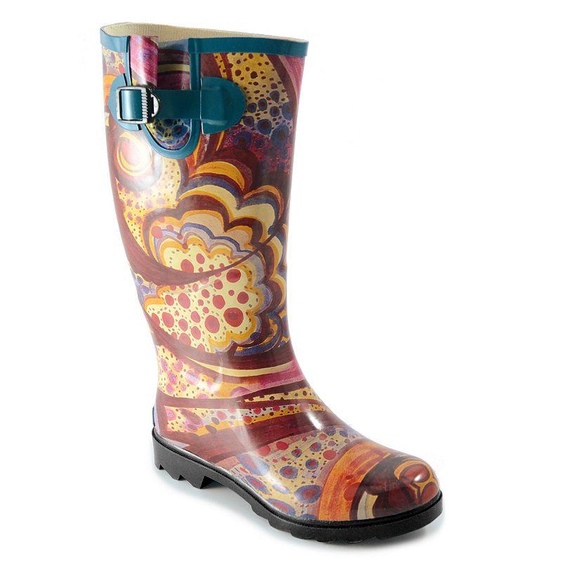 Corkys Sunshine Women's Rain Boots, Size: 11, Red