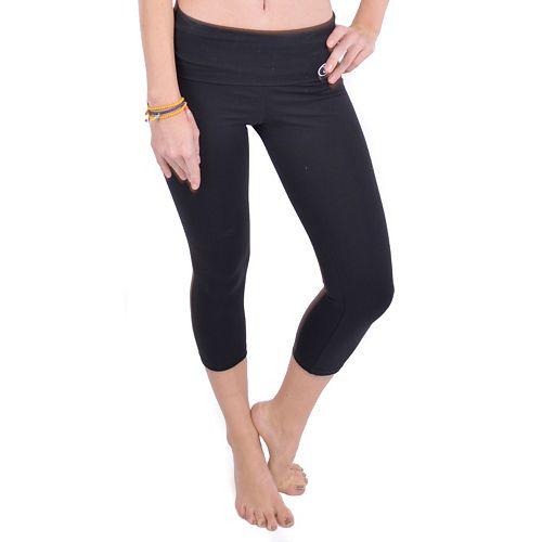 c940649496b7e Wear Me Out Cinch-Back Foldover Capri Yoga Leggings - Women's