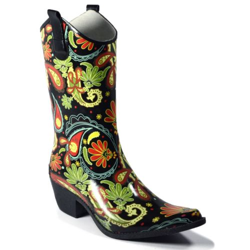 Rodeo Women's Western Rain Boots