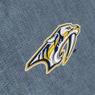 Men's Antigua Nashville Predators Chambray Button-Down Shirt