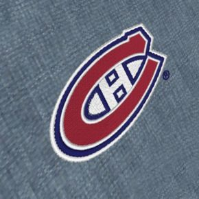 Men's Antigua Montreal Canadiens Chambray Button-Down Shirt