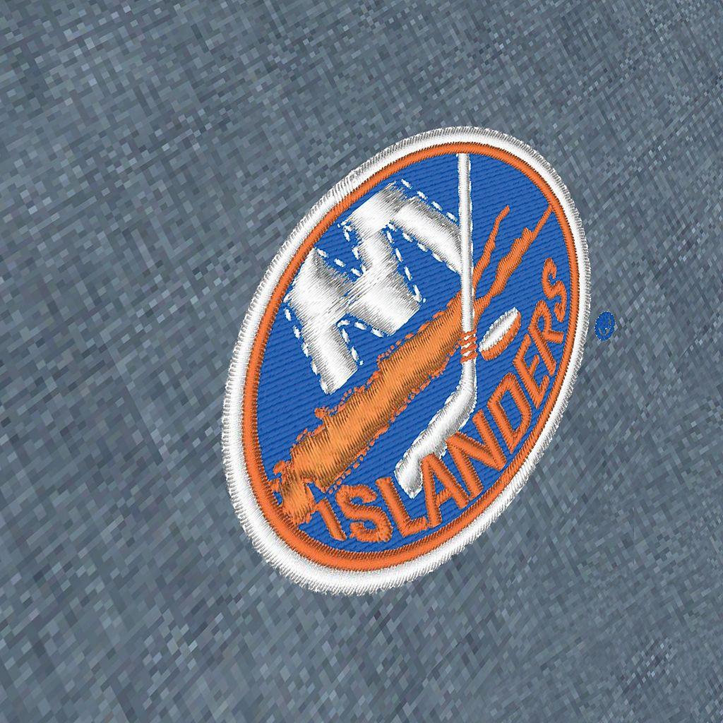 Men's Antigua New York Islanders Chambray Button-Down Shirt