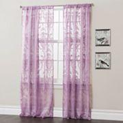 Lush Decor Anya Sheer Window Curtains - 52'' x 84''