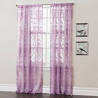 Lush Decor Anya Sheer Window Curtains - 52'' x 84''