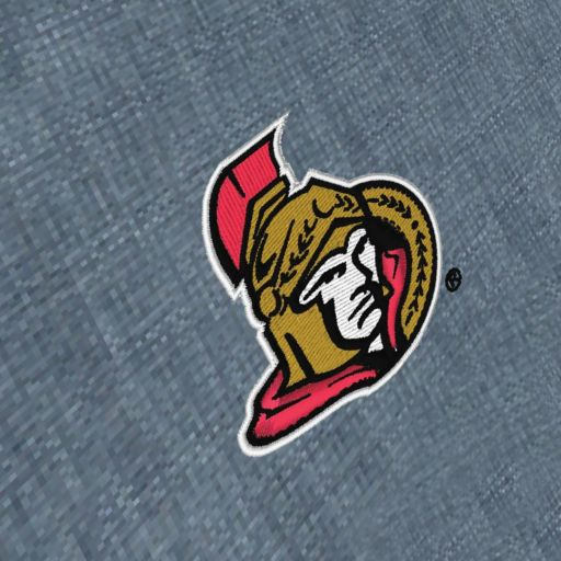 Men's Antigua Ottawa Senators Chambray Button-Down Shirt