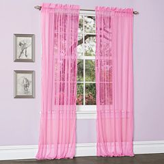 Lush Decor Lola Sheer Window Curtains - 54'' x 84''
