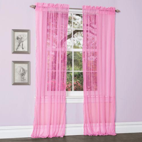 "Lush Decor Lola Sheer Curtains – 54"" x 84"""