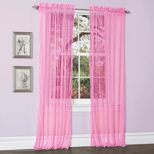 Lush Decor Lola Sheer Curtains - 54'' x 84''