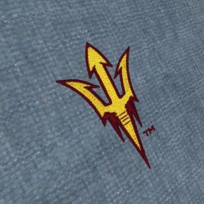 Men's Antigua Arizona State Sun Devils Chambray Button-Down Shirt