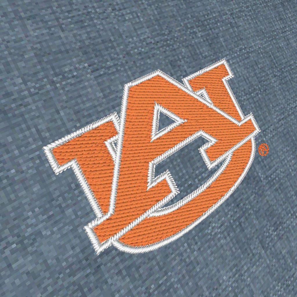 Men's Antigua Auburn Tigers Chambray Button-Down Shirt